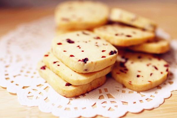美味蔓越莓饼干